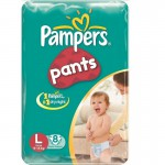PAMPERS PANTS -L-8