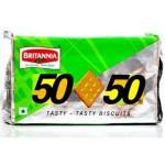 BRITANNIA 50-50 BISCUIT 100 GM