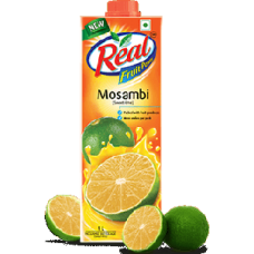 REAL FRUIT JUICE MOSAMBI FLAVOUR 1 LTR