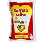 SAFFOLA ACTIVE OIL POUCH 1 LTR