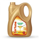 FORTUNE RICE BRAN OIL 5 LTR