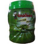 GOLDIEE GREEN CHILI PICKLE 1 KG